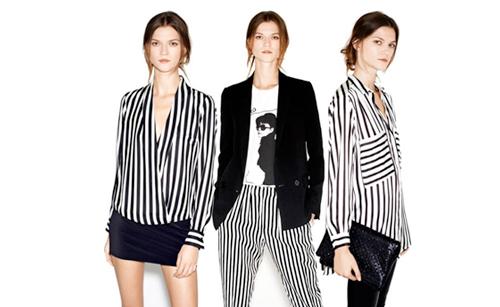 look rayas blanco y negro moda almeria tendencias