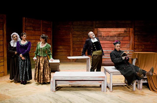 Baños Arabes Almeraya:Continúan las jornadas de Teatro del Siglo de Oro en Almería y esta