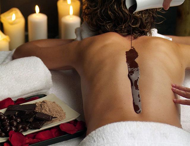 masaje chocolate almeria