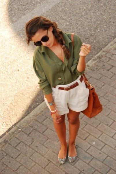 Shorts de mujer para el verano 2013