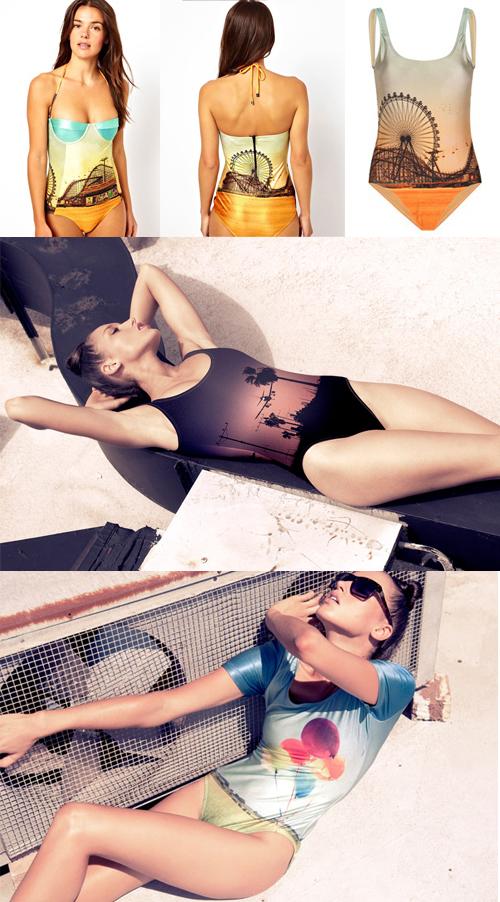 bañadores y bikinis graficos verano 2013