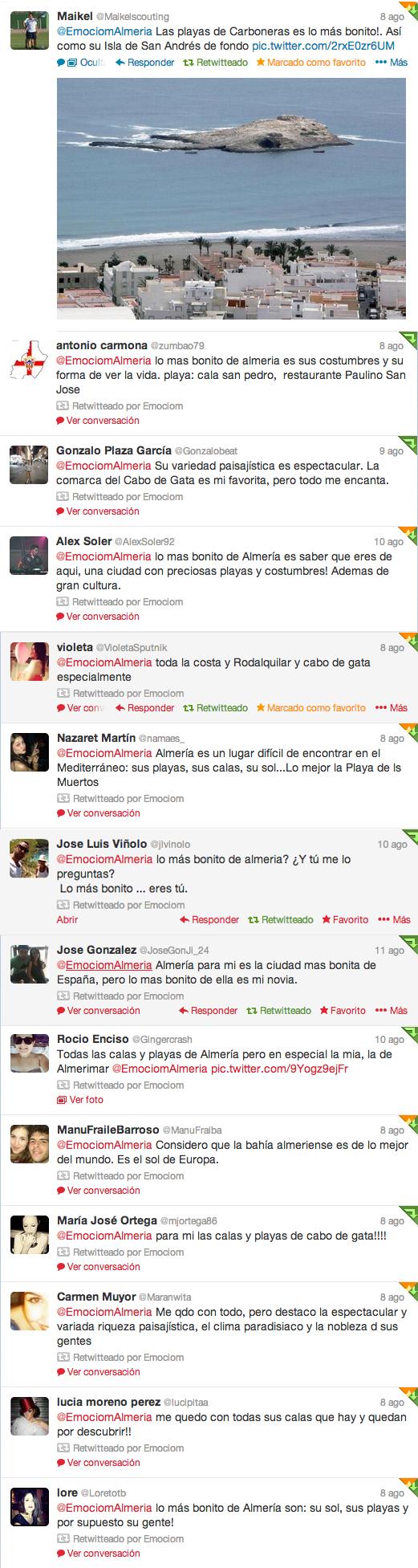 tweets de almeria