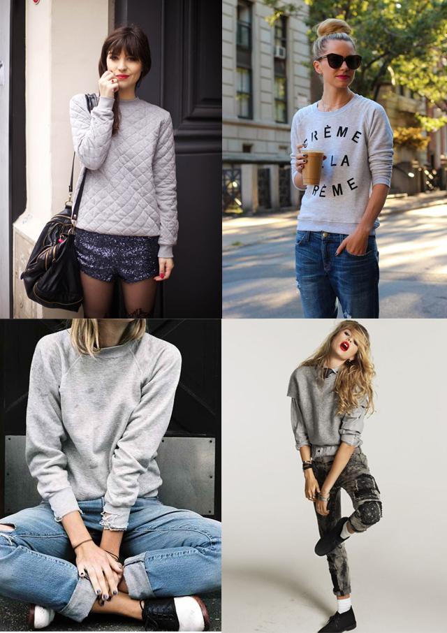 sudadera moda 2014 gris