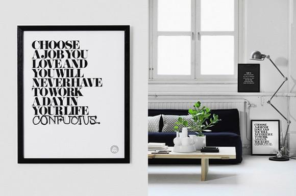 Decoraci n citas y reflexiones para enmarcar blog for Decorar casa karma