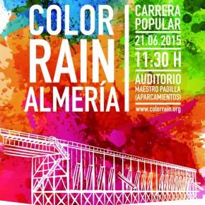 Llega la Carrera Color Rain a Almería