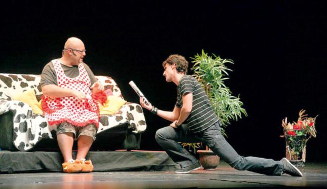 Baños Arabes Almeraya:HUMOR, DOS HOMBRE SOLO SIN PUNTO COM NI NA 21:30 en Teatro Auditorio